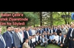 Faruk Çelik Ankara STK buluşması