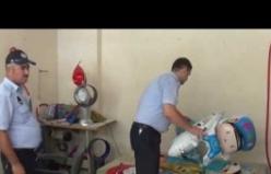 Urfa'da zehirli gaz ele geçirildi