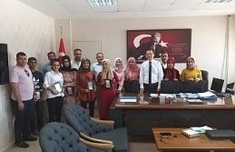 Çamlıdere öğrencileri Kaymakamı ziyaret etti