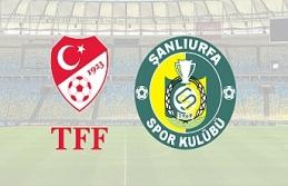 TFF Urfaspor'a yine ceza kesti!