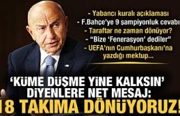 Özdemir'den flaş açıklamalar