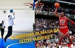 Kırıkçı'dan NBA'yı aratmayan hareket...