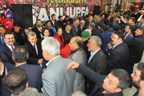AK Parti Belediye Başkanları Tebrikleri Kabul Etti