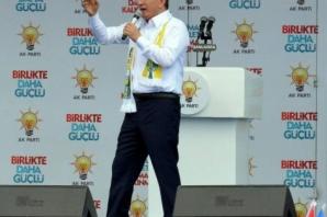 Başbakan Ahmet Davutoğlu, Şanlıurfa'da konuştu