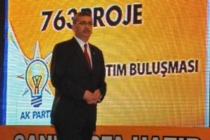 AK Parti 763 Projenin tanıtım gecesi