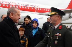 Erdoğan Urfa'da coşkuyla karşılandı