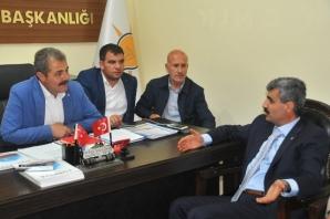 Ak Parti Şanlıurfa Milletvekili Aday Adayı Selim Bağlı Seçim Çalışmalarını Sürdürüyor