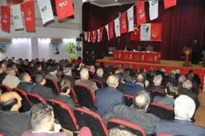 CHP Şanlıurfa İl Kongresinde Aziz Aydınlık güven tazeledi