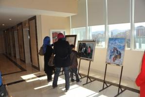 GESAM Üyeleri Şanlıurfa Nevali oteli'nde sergi açtı