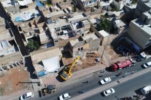 Urfa'da yıkıma başlanıldı