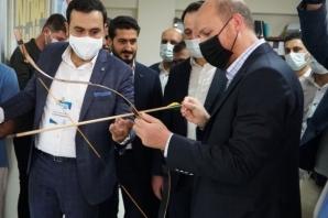 Bilal Erdoğan'a Urfa'da coşkulu karşılama...