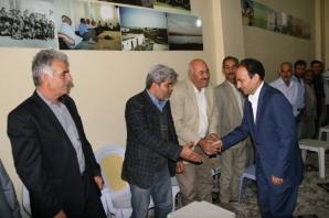 Halkların Demokratik Partisi (HDP) Urfa Milletvekili Adayı Osman Baydemir, seçim çalışmalarını sürdürüyor