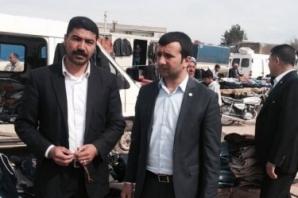 HDP Şanlıurfa Milletvekili Aday Adayı Rasim Çakmak Esnafları Gezdi