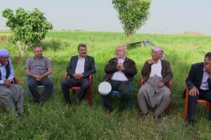 HDP Şanlıurfa Milletvekili Adayı Ziya Çalışkan seçim çalışmalarını sürdürüyor