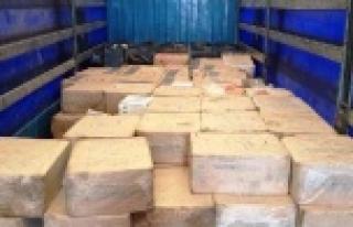 122 bin paket kaçak sigara ele geçirildi