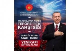 Cumhurbaşkanı Erdoğan'dan Yenikapı'ya Tweetli...