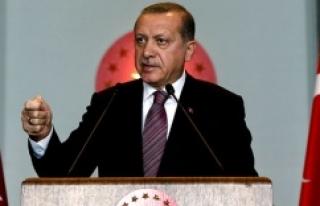 Erdoğan çok sert konuştu...