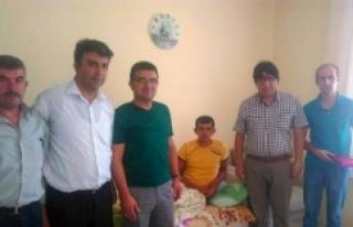 Karaman Gençlik Merkezi'nden Gazi Kuzu'ya Ziyaret