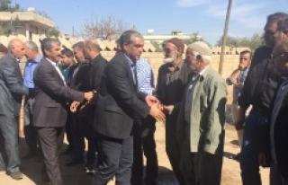 Ayhan Halfeti'lilerden destek istedi.