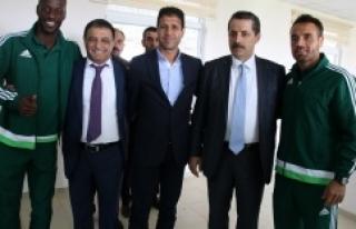 Çelik'ten Urfaspor yönetime tam destek