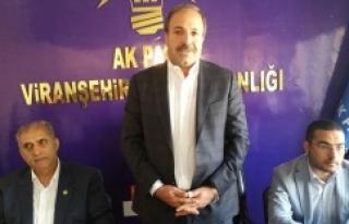 Özcan Viranşehir'de destek istedi