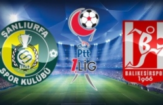 Urfaspor-Balıkesir maçıyla ilgili flaş karar...