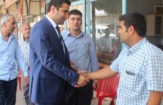 Suruçlular adayları Yıldız'ı bağrına bastı