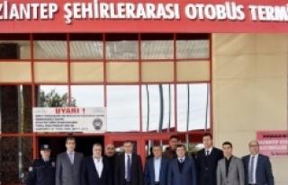 Gaziantep Valisi Otogar A.ş. Yönetim Kurulu'na...