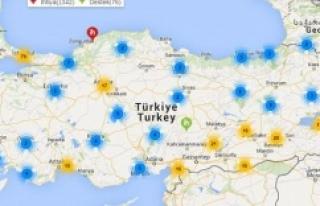 Gönüllüler, Türkiye'nin ihtiyaç haritasını...