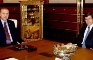 Kritik görüşme sona erdi! Görev Davutoğlu'nda