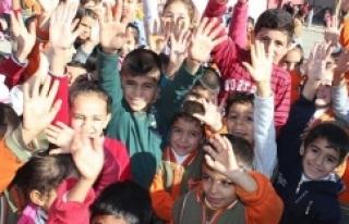 Suriye sınırında öğretmen olmak