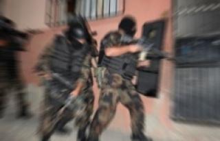 Urfa'da PKK operasyonu:10 gözaltı