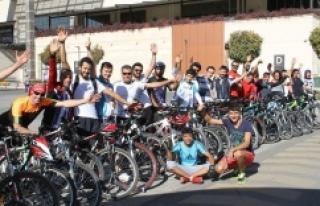 Urfa'da bisiklet kullanımı yaygınlaşıyor