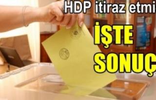 Urfa'da oylar yeniden sayıldı!