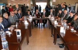 Başkanlar Birecik'te toplandı