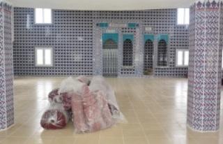 Ceylanpınar Belediyesinden camilere yardımeli