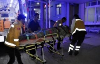 Ceylanpınar'da askeri araç devrildi