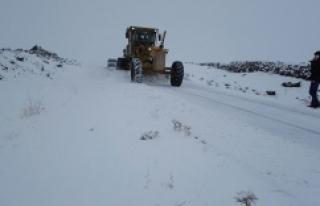 Köy yolları ulaşıma açılıyor