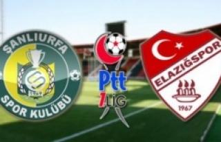 Urfaspor-Elazığspor maçı ne zaman oynanacak?