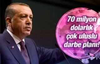 Erdoğan'a 70 milyon dolarlık darbe planı!