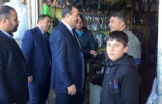Esnaf, Vekil Özcan'a moral verdi!