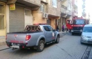 Eyyübiye'de korkutan yangın; 2 Kişi...