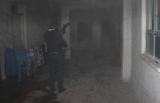Urfa'da çıkan yangında 2 yaşındaki çocuk...