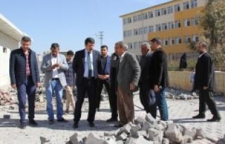 Eyyübiye Belediyesi yol yapımını bitirdi
