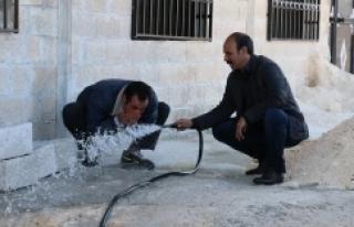 ŞUSKİ 250 hanenin su sorununu çözdü