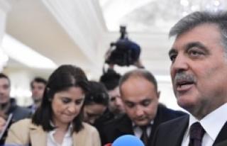 Abdullah Gül'den çağrı