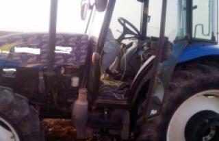 Jandarma Traktör üzerinde yakaladı...