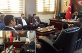 Şanlıurfa Baro Başkanından Hilvan Belediye Başkanına...