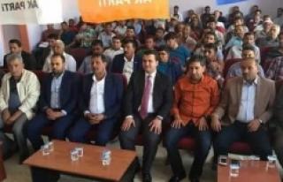 AK Parti Harran'da toplantı yaptı