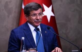 Davutoğlu'ndan yeni anayasa açıklaması